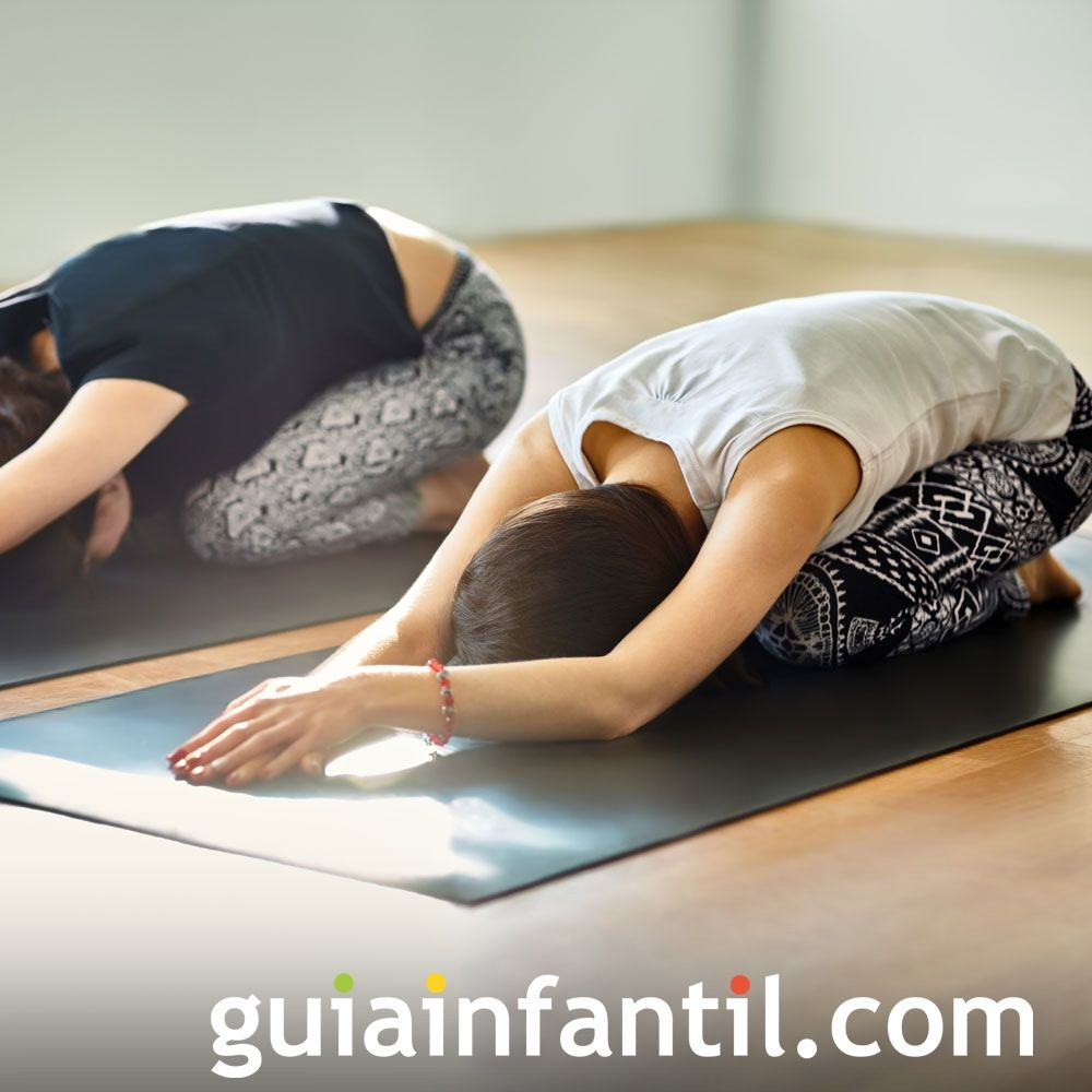 Postura del niño. Posturas de yoga para niños