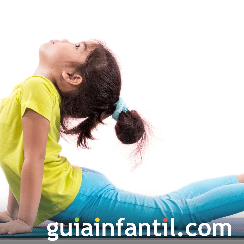 Postura de la cobra. Posturas de yoga para niños