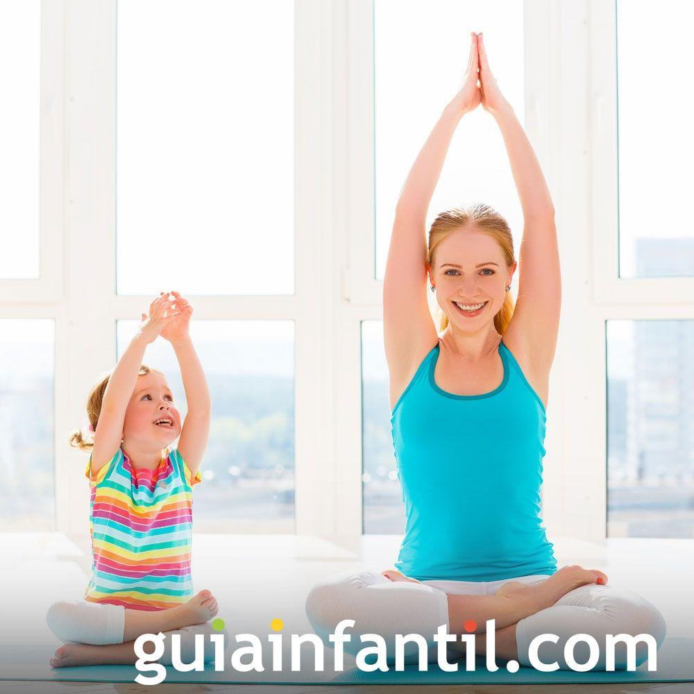 Postura de la mariposa. Posturas de yoga para niños