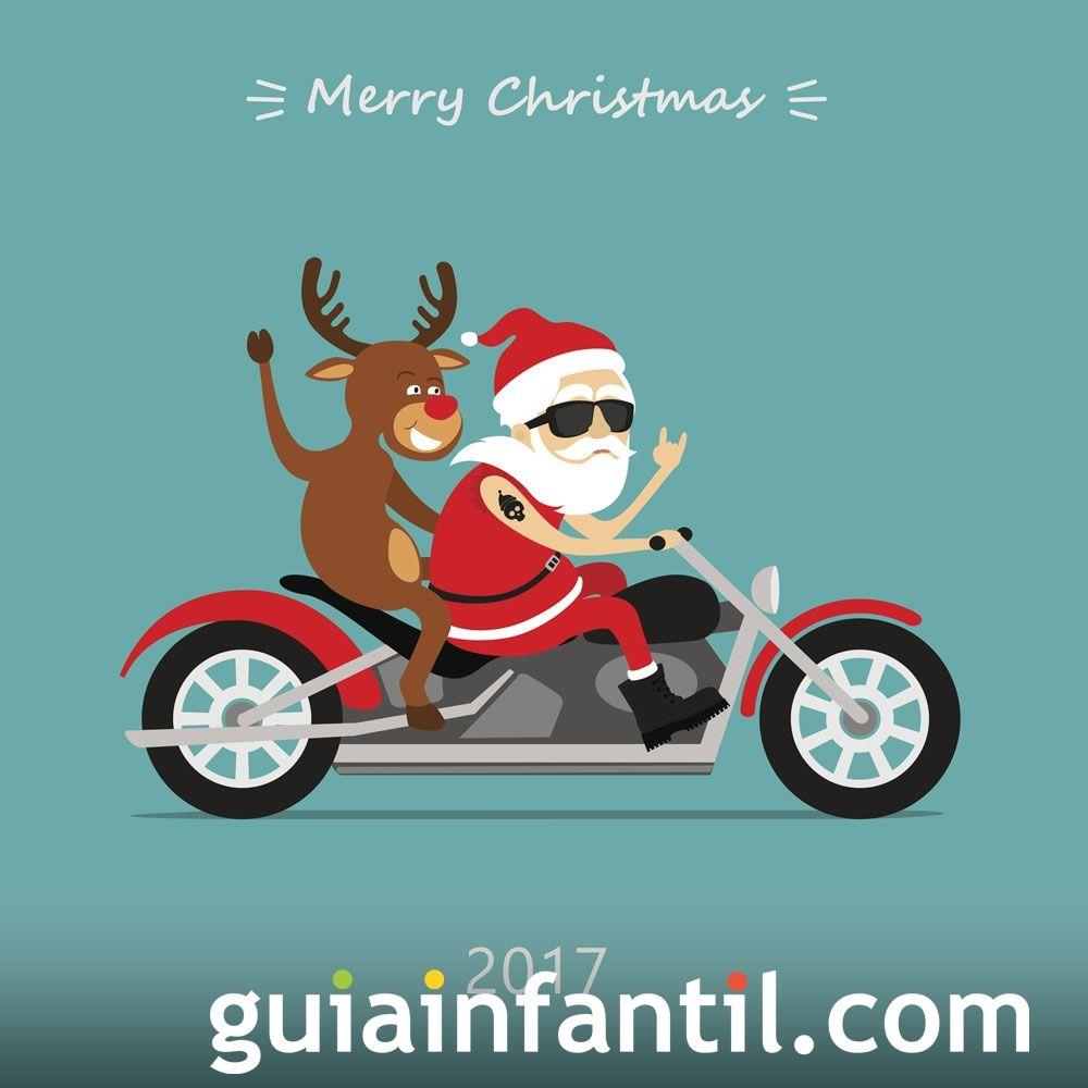 Tarjetas graciosas para felicitar la Navidad