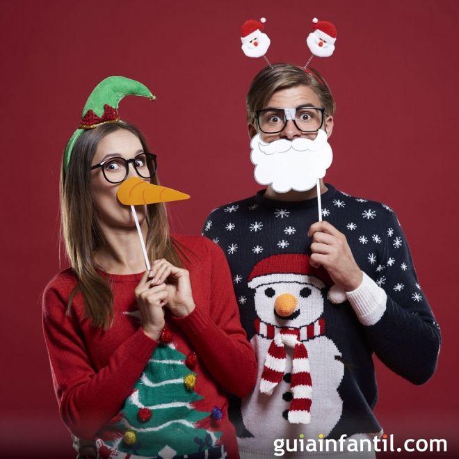 Postales graciosas para regalar en Navidad