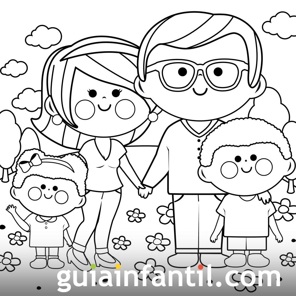 Dibujos Para Colorear De Los Derechos Del Niño
