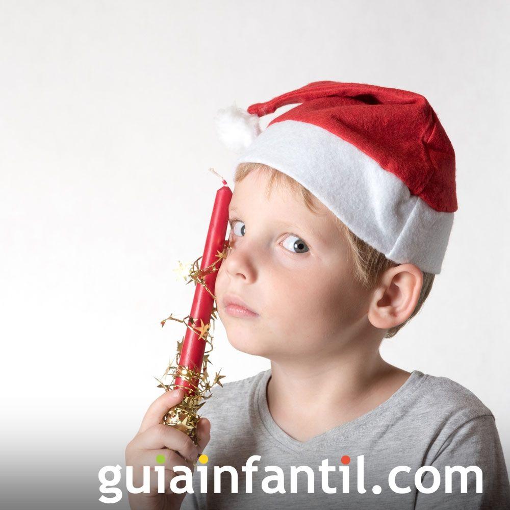 Ideas para complementos caseros de Navidad. Gorro de Papá Noel