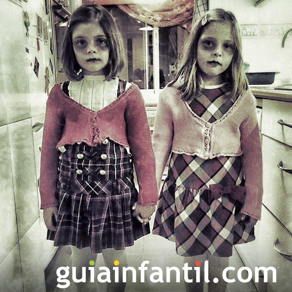 Realmente terroríficos estos disfraces para niña de Halloween