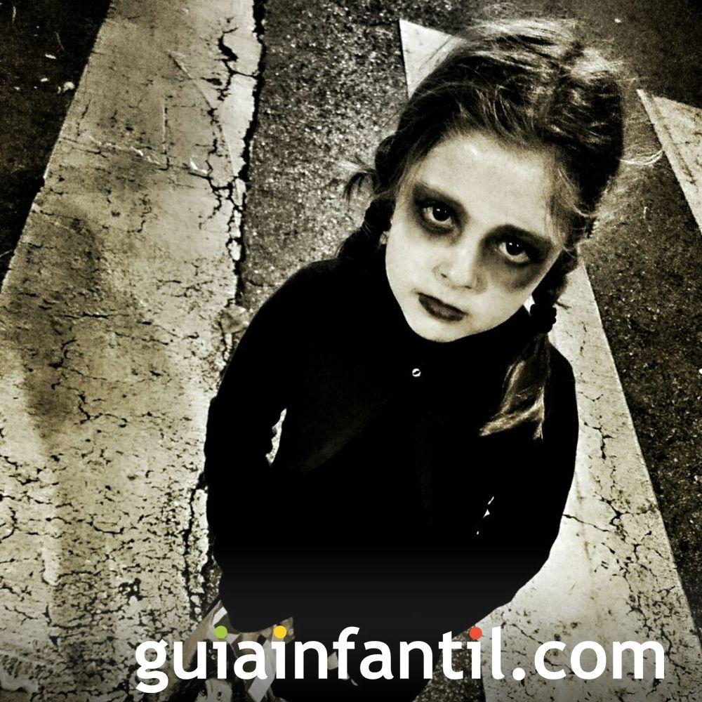 Míercoles, de la Familia Adams, no podía faltar entre los mejores disfraces de Halloween