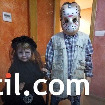 Ainhoa junto a Jason, ¡de miedo!