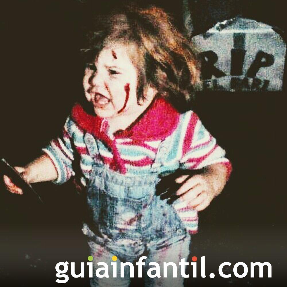 Chucky El Disfraz De Nora Para Halloween