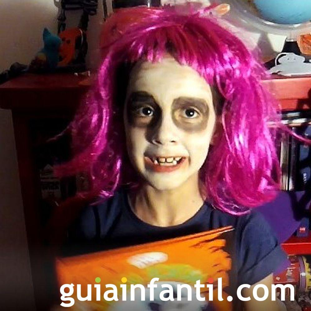El disfraz de Claudia para Halloween