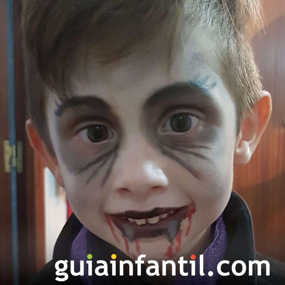 Daniel, el drácula más mono de Halloween