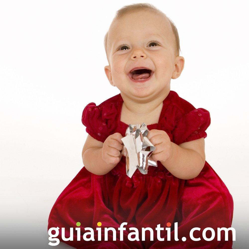 aeff301f6 Vestido de Navidad para bebés