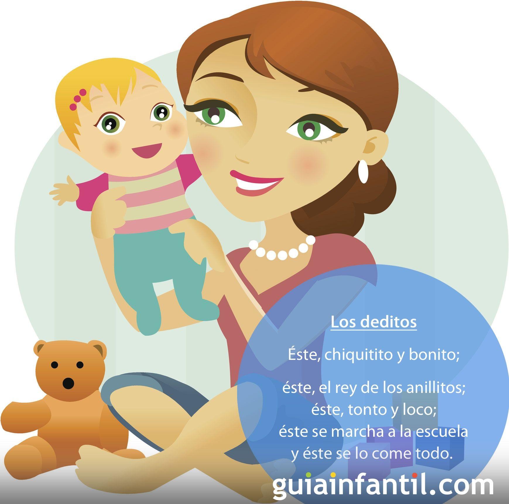 Canción Los deditos para jugar con los bebés