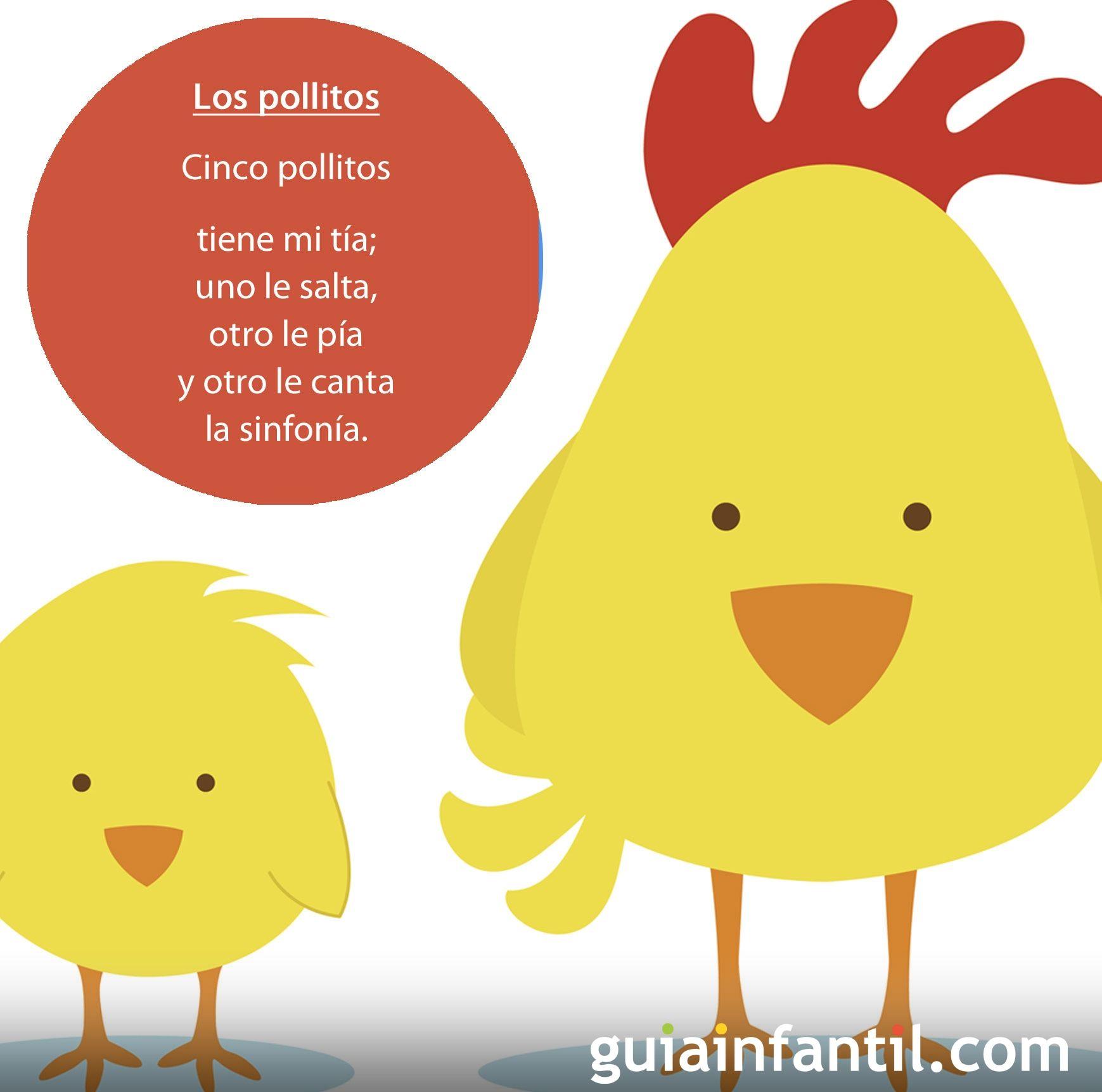 Los pollitos: canción fácil para bebés