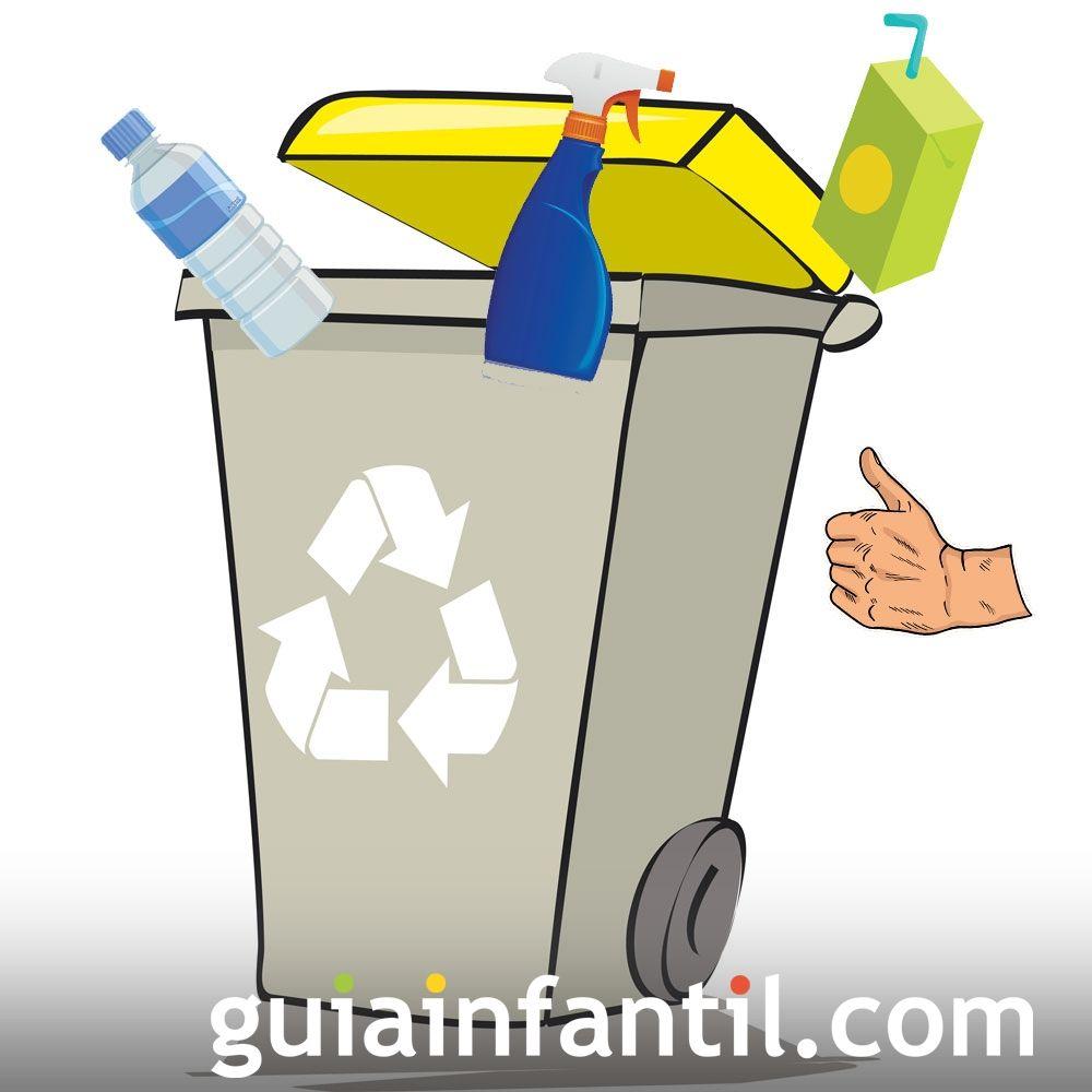 A los plásticos solo envases. Lo que no debes hacer en el reciclaje