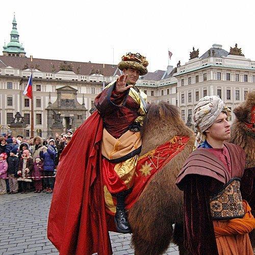 El Rey Gaspar en la República Checa