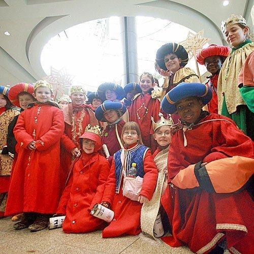 Pajes de los Reyes Magos en Düsseldorf