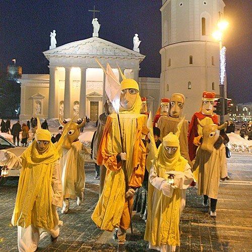 Originales Reyes Magos en Lituania