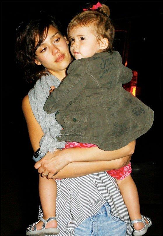 Jessica Alba eligió el nombre Honor para su hija