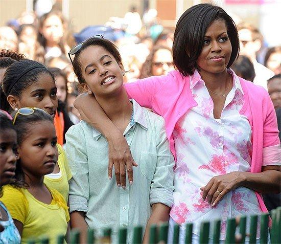 Los nombres de las hijas de Barack y Michelle Obama