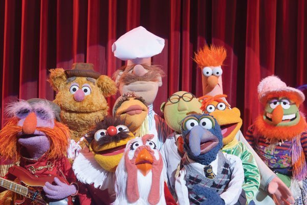 Los Muppets reunidos