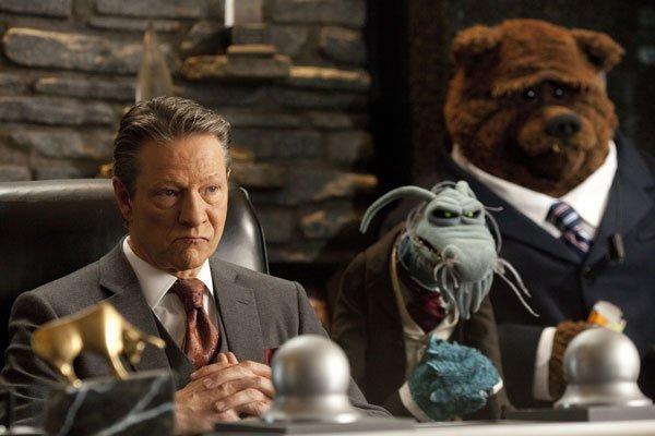 Los malos de la película los Muppets