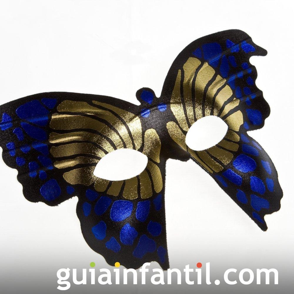 Antifaz de mariposa