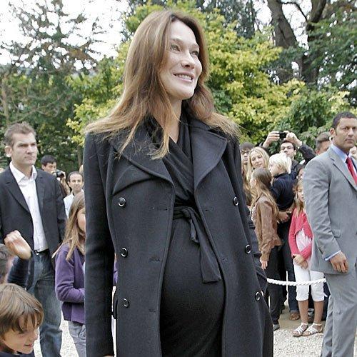 Carla Bruni embarazada