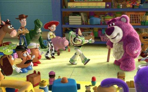 Toy Story 3 es una película de dibujos animados en 3D