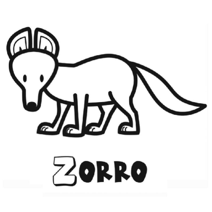 Dibujos Para Colorear De Los Animales Del Bosque
