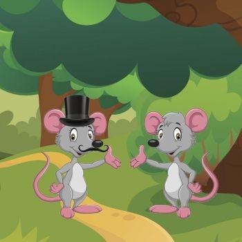 Ratón de campo, ratón de ciudad
