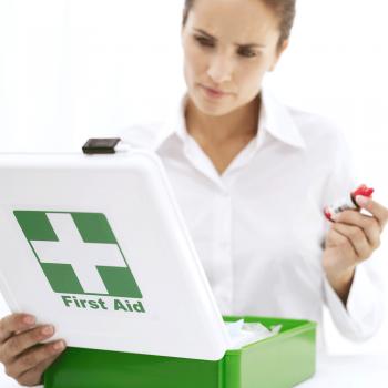 Botiquín de primeros auxilios para los niños