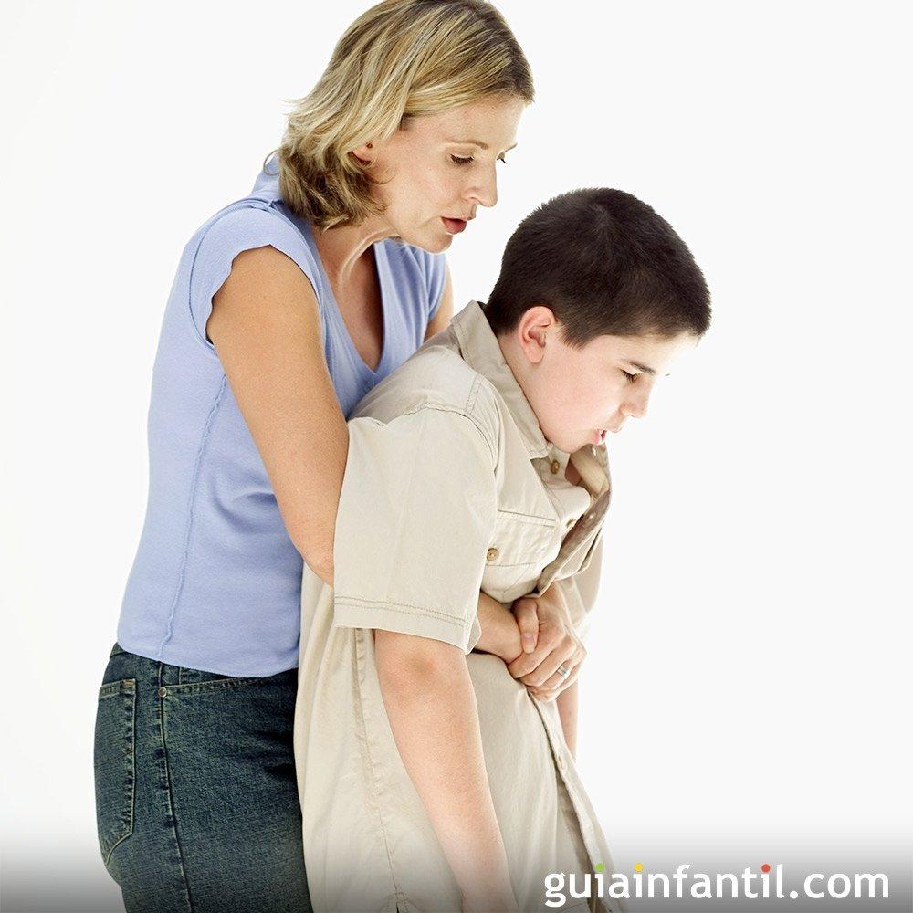 Atragantamiento Primeros Auxilios A Los Niños