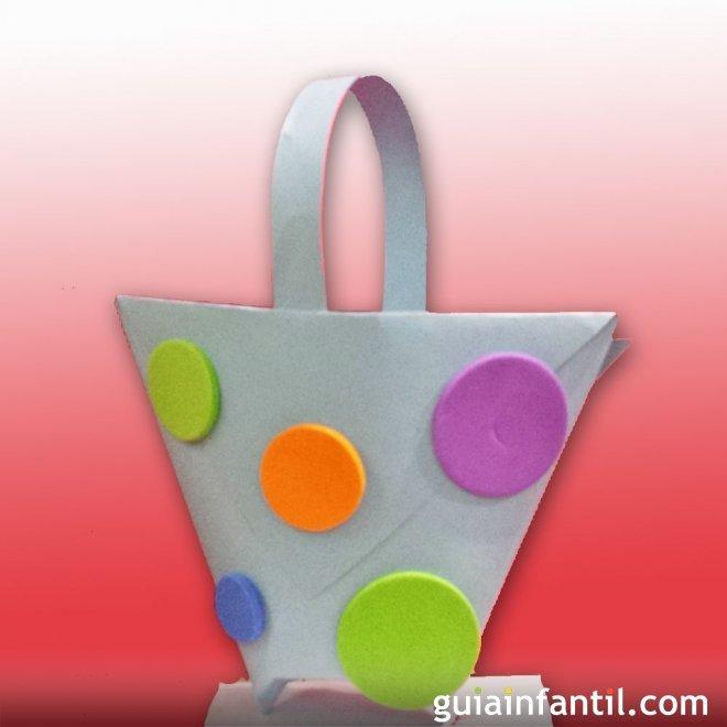 Cestita Para Los Huevos De Pascua Manualidades Infantiles