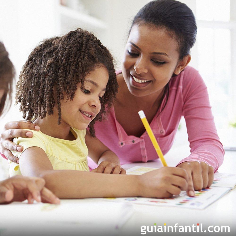 Cómo Enseñar A Los Niños A Estudiar