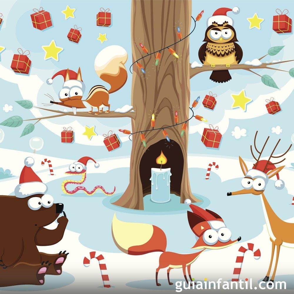 Una Navidad en el bosque. Cuento de Navidad