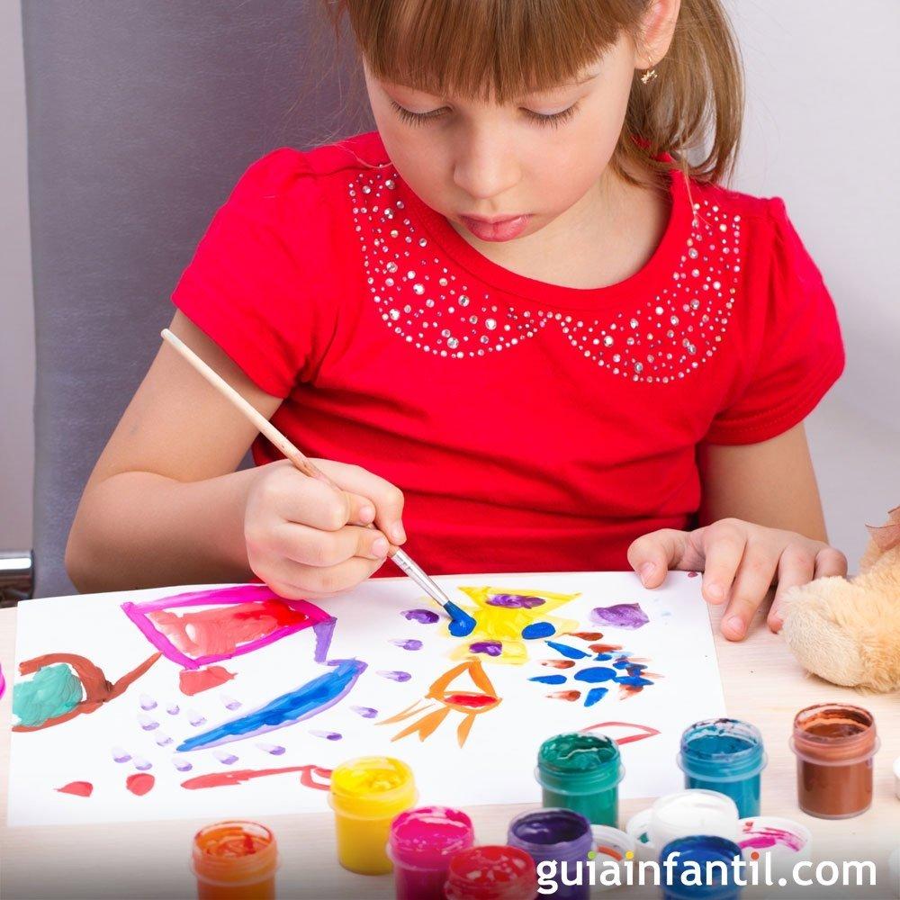 La pintura y los niños