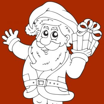 Dibujos de Papá Noel