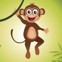El mono y el leopardo. Fábulas de La Fontaine