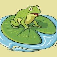 La rana que quiso hincharse como un buey. Fábulas de La Fontaine
