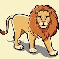 El león y la zorra. Fábulas de Samaniego