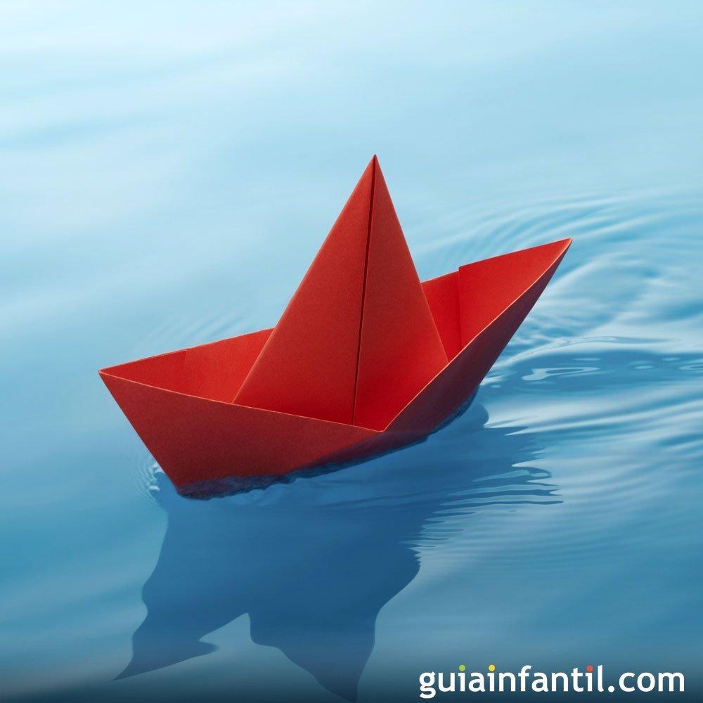 Cómo Hacer Un Barco De Papel Manualidades Infantiles