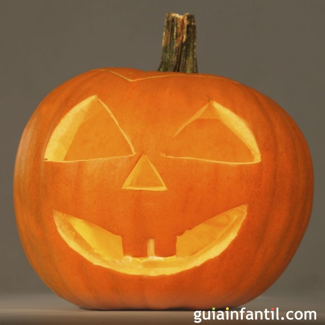 Manualidades para nios Calabaza de Halloween