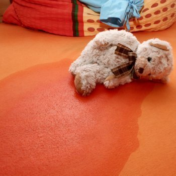 Enuresis y ansiedad en los niños