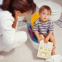 Calendario de progresos de un niño con enuresis