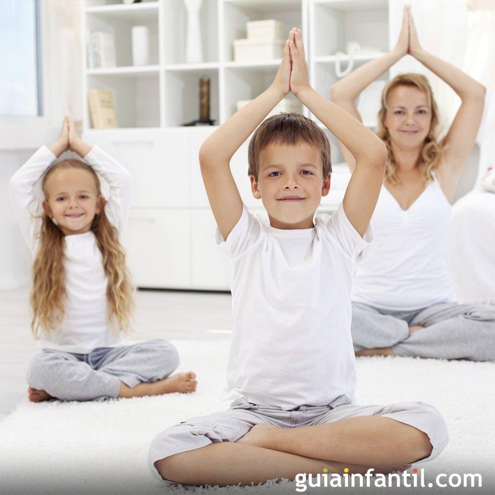 Yoga infantil  la unión de juego y relajación 154ba6ce2903