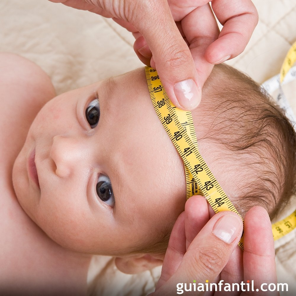El perímetro cefálico del bebé