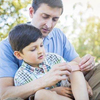 Consejos de primeros auxilios para padres