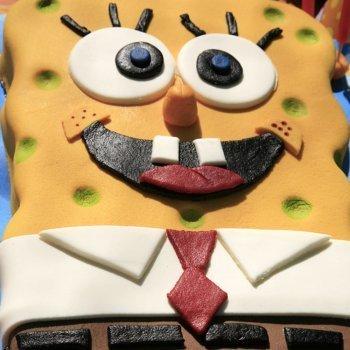 Tarta de Bob esponja