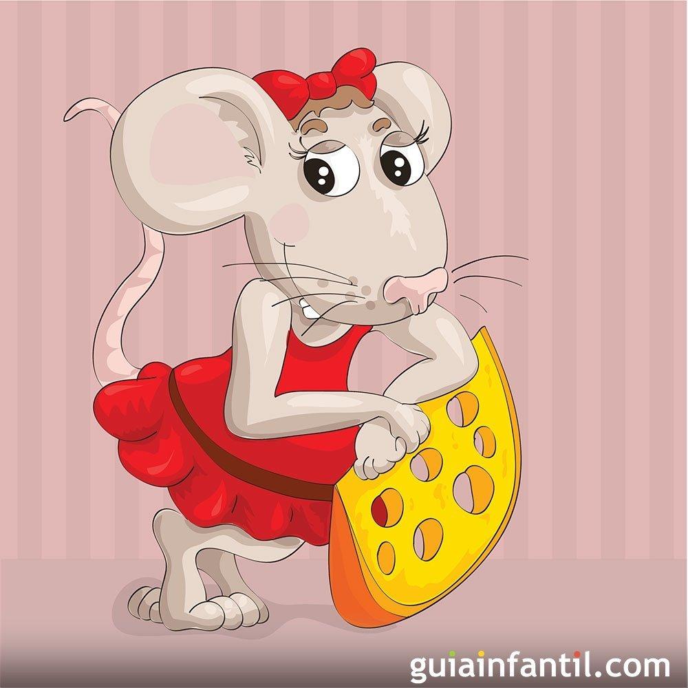 La Casa De Los Ratones Ratoncita Ella