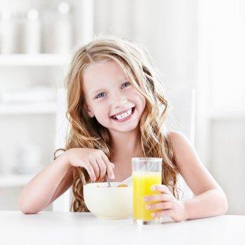 El desayuno de los niños