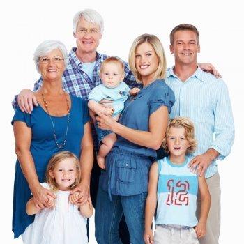 Los abuelos y sus nietos